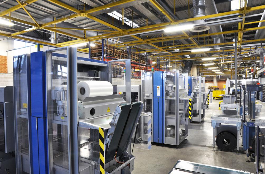 Produktionshallen