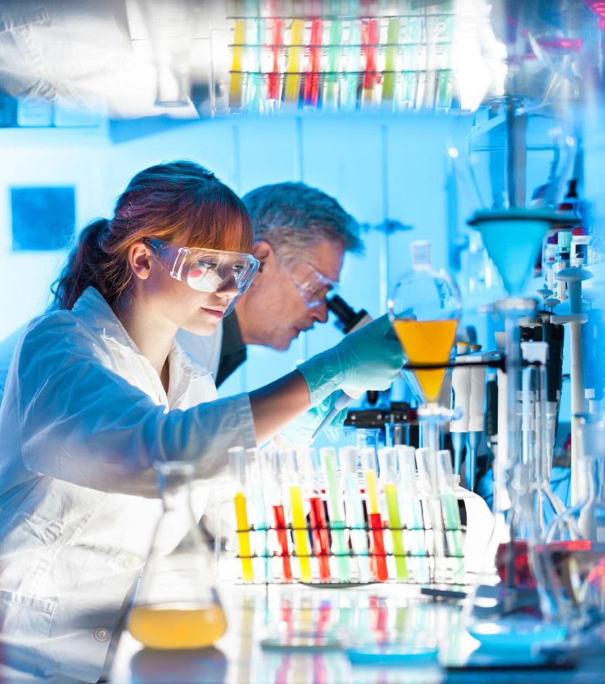 Chemie und Pharma